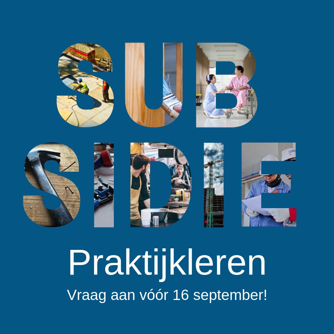 Subsidieregeling Praktijkleren
